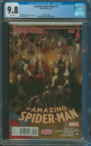 Amazing Spider-Man #12 CGC Graded 9.8