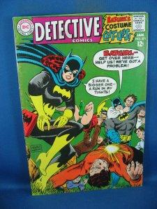 DETECTIVE COMICS 371 F VF FIRST NEW BATMOBILE BATGIRL 1968