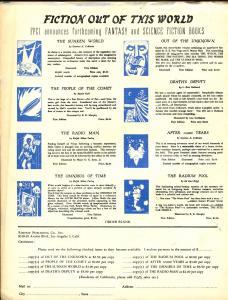 Fantasy Book #2 1947-A E Van Vogt-Basil Wells-limited distribution-FN-