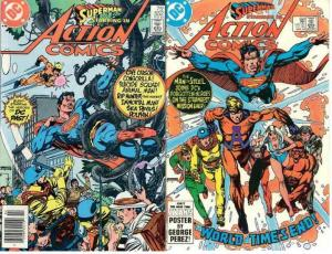 ACTION 552-553  ANIMAL MAN, SUICIDE SQUAD++ 2-Part Stor
