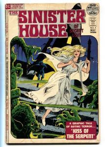 Sinister House Of Secret Love #4 1972-DC COMICS Gothic Horror Romance G+