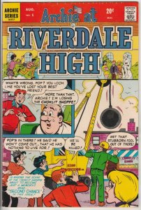 Archie At Riverdale High #1 (Aug-72) VG/FN+ High-Grade Archie, Betty, Veronic...