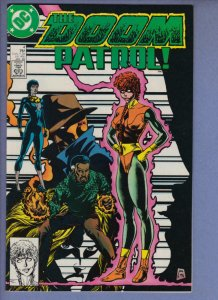 DOOM PATROL #4, NM, Kupperberg, 1987 1988, Robot Man, Chief, more DC in store