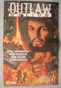 OUTLAW NATION Promo poster, Glenn Fabry, 11x17, 2000, Unused