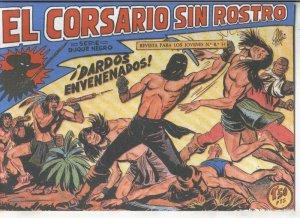 El Corsario sin Rostro, facsimil numero 25: Dardos envenenados