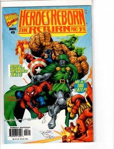 Heroes Reborn the Return (1997) #3 NM (9.4)