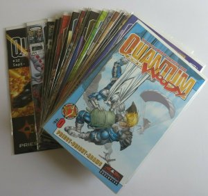 Quantum and Woody #1-32 Complete Set High Grade NM Includes #0 & #1 Both Issues