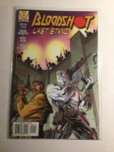 Bloodshot Last Stand Special Near mint nm Valiant