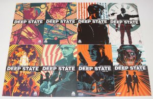 Deep State #1-8 VF/NM complete series - justin jordan - government conspiracy