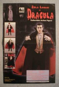 BELA LUGOSI AS DRACULA Promo Poster, 11x17, Unused, more Promos in store