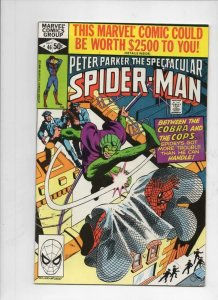 Peter Parker SPECTACULAR SPIDER-MAN #46 VF/NM, Cobra 1976 1980 more in store