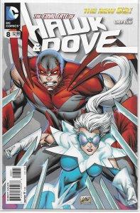 Hawk and Dove (vol. 4, 2011) #8 VF (New 52) Liefeld