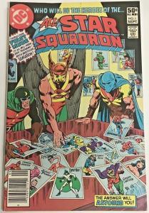 ALL-STAR SQUADRON#1 VF 1981 DC BRONZE AGE COMICS