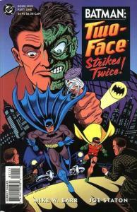 Batman: Two-Face Strikes Twice #1, NM