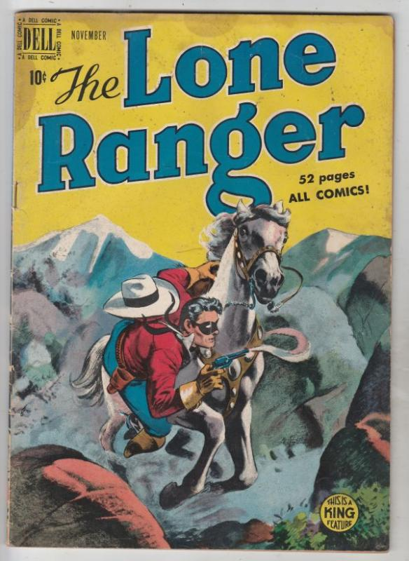 Lone Ranger, The #17 (Nov-49) VG+ Affordable-Grade The Lone Ranger, Tonto, Si...