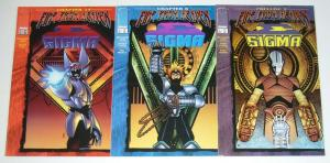Sigma #1-3 VF/NM complete series - image comics - fire from heaven crossover set