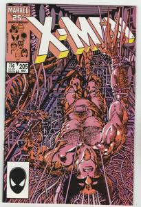 X-Men #205 (May-86) NM Super-High-Grade X-Men