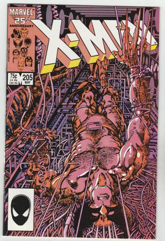 X-Men #205 (May-86) NM Super-High-Grade X-Men
