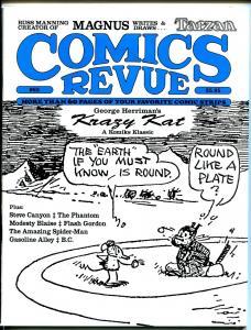 Comics Revue #85 1993-Gasoline Alley-Flash Gordon-Modesty Blaise-Krazy Kat-VF