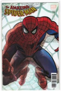 Amazing Spider-Man #789 Lenticular Ales Ross Variant Cover