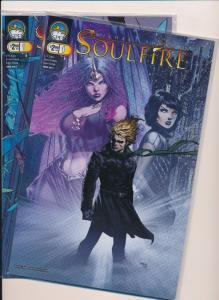 SOULFIRE #1 Cover A&B ~ Aspen Comics ~ VF/NM (HX386)