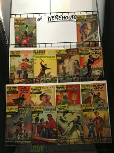 CLASSICS ILLUSTRATED (Gilberton) 27 diff VGish great collection
