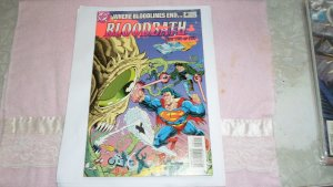 1993 DC COMICS WHERE BLOODLINES END BLOODBATH PART 2 OF 2