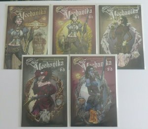 Lady Mechanika Collected Edition #0 & 1 (3 Comics) #2 & 3 (2 Comics) See Listing