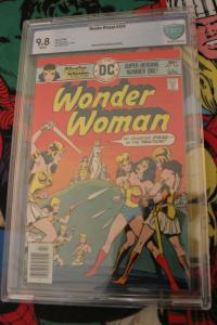 Wonder Woman #224 (DC, 1976) CBCS NM/MT 9.8 White pages- Newsstand Mint Pedigree