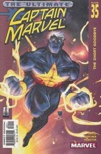 Captain Marvel (5th Series) #35 VF; Marvel   save on shipping - details inside