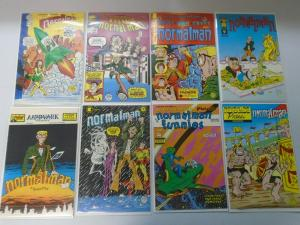 Normalman run #1-9 missing #4 avg 8.0 VF (1984-85)