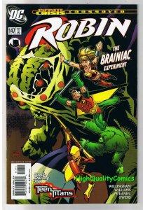 ROBIN #147, VF+, Brainiac, Teen Titans, Wonder Girl, more DC in store