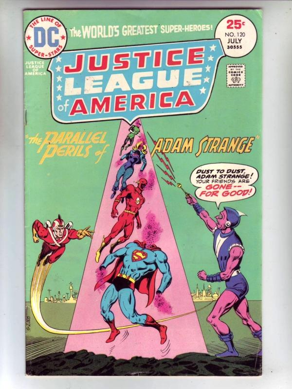 Justice League of America #120 (Jul-75) FN/VF High-Grade Justice League of Am...