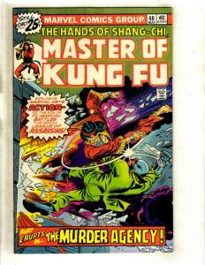 10 Master of Kung Fu Marvel Comics # 40 44 45 46 47 48 49 50 51 52 WS6