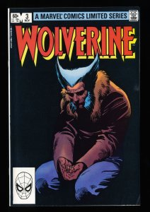 Wolverine (1982) #3 VF/NM 9.0