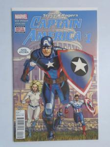 Captain America Steve Rogers #1A, 8.0/VF (2016)