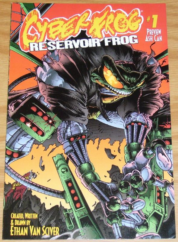 Cyberfrog: Reservoir Frog Ashcan #1 VF; Harris | limited edition preview