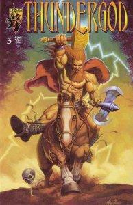 THUNDERGOD #3, VF/NM, Crusade Comics 1996  more Indies in store