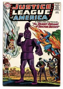 JUSTICE LEAGUE OF AMERICA #34-comic book-JOKER COVER-DC COMICS VF-