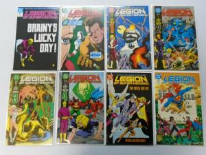 Legion of Super-Heroes Set:#1-63 + Annual:#1-4, 67 Different, 8.0/VF (1984-1989)