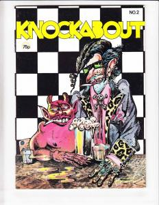 Knockabout Comics #2 VF+ (1st) print - underground comix - double cover error!