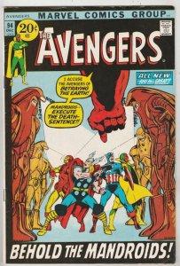 Avengers, The #94 (Dec-71) VF High-Grade Avengers