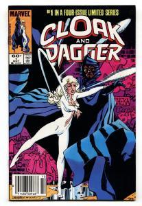 Cloak and Dagger #1-1983 Marvel Comic Book VF/NM