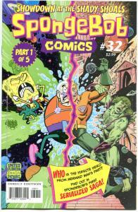 SPONGEBOB #32, NM, Square pants, Bongo, Cartoon comic, 2011, more in store