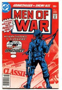 MEN OF WAR #1-comic book-DC-First FRANK MILLER DC art