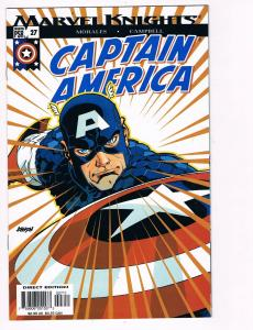 Captain America # 27 Marvel Comic Books Awesome Issue Marvel Knights WOW!!!! S25
