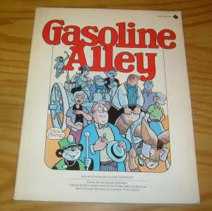 Gasoline Alley SC FN dick moores - avon/flare book - social commentary 1976
