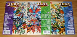 JLA-Z #1-3 VF/NM complete series - a guide to the world's greatest super-heroes