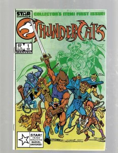Thundercats # 1 NM Marvel Star Comic Book Liono Mooney & Breeding Mumm-Ra SB5