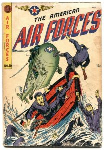 American Air Forces #10 1952-Golden Age comic G
